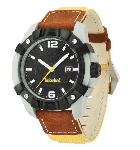 Timberland Gents 'Chocorua' Yellow Fabric Strapped Watch 13326JPGYB/02