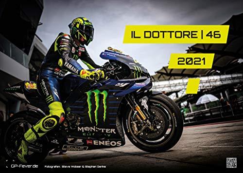 Il Dottore | 46 - Valentino Rossi - 2021 - Calendario - Formato: A3 | MotoGP: El calendario de pared para todos los aficionados viejo maestro italiano Valentino Rossi!