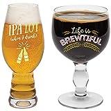 BigMouth Inc The Beer Snob - Juego de Utensilios para Beber