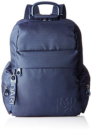 Mandarina Duck Damen Md20 Rucksack, Blau (Dress Blue), 26 x 14 x 37 cm (B x H x T)