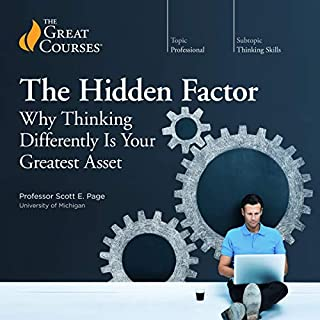 The Hidden Factor: Why Thinking Differently Is Your Greatest Asset cover art