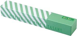 驚異の防臭袋 BOS (ボス) ★ストライプパッケージ/透明グリーン★20Lゴミ袋30枚入 大人用 おむつ ペットシーツ 生ゴミ などの処理に/災害時 臭い 対策に