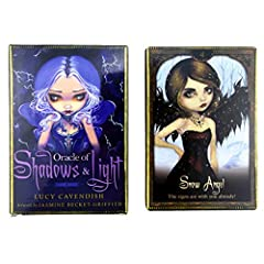 DALIN Oracle of Shadows and Light Full English Party Board Game 45 Cards Deck Tarot #2