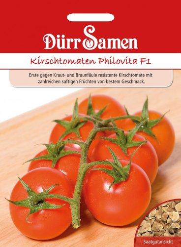 Dürr Samen 1760 Kirschtomate Philovita F1 (Kirschtomatensamen)