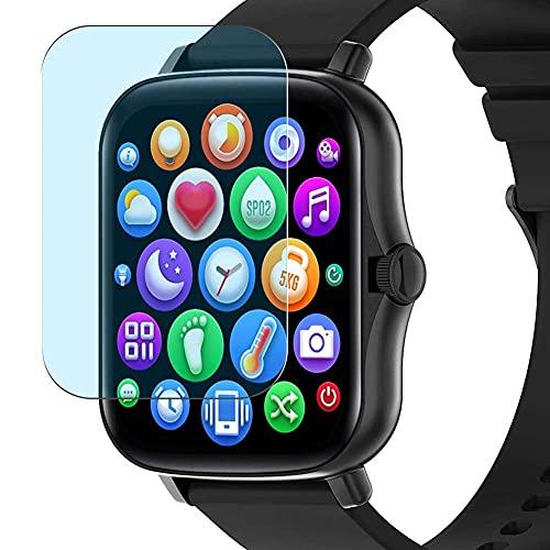 Vaxson 3-Pack Anti Luce Blu TPU Pellicola Protettiva, compatibile con Smart Technic Y20 1.69' smart watch smartwatch, Screen Protector Film [Non Vetro Temperato Cover Custodia ]