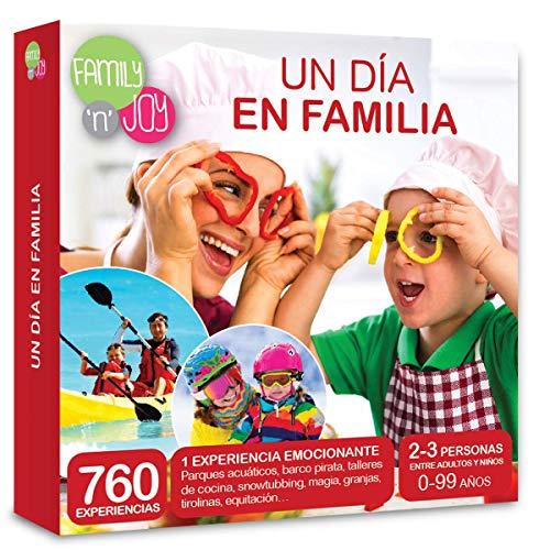 NJOY Experiences - Caja Regalo - UN DIA EN FAMILIA - Más de 760 experiencias familiares a escoger