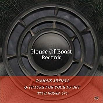 Q-Tracks For Your Dj Set Tech House 7