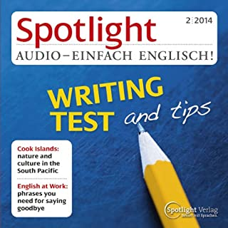Spotlight Audio - Writing test and tips. 2/2014 cover art