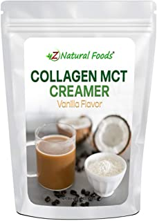 Collagen MCT Oil Creamer - Vanilla Flavor - For Coffee, Tea, Shakes & Smoothies - Perfect for Cooking or Baking Recipes - ...