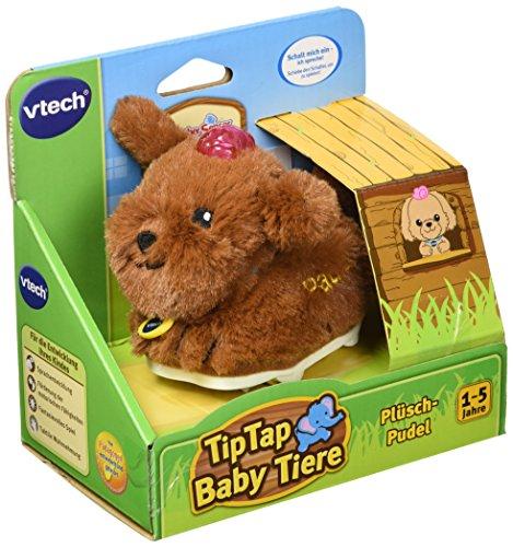 Vtech Baby 80-189104 - Tip Tap Tiere - Plüsch-Pudel, braun