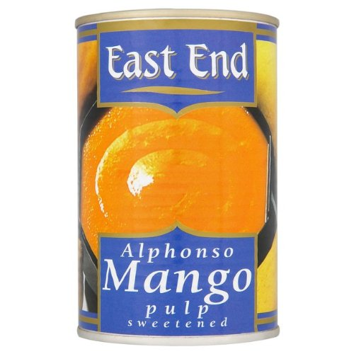 East End Alphonso pulpa de mango 4 x 450 g