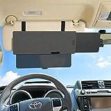 Shadeway 偏光サンバイザーエクステンダー 車 SUV トラック アンチグレア車 サンバイザー 太陽の眩しさから保護 雪の盲目 車 SUV/トラック用 ユニバーサル型