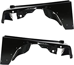 Make Auto Parts Manufacturing Front Driver Left And Passenger Right Side Fender Steel With Molding Holes For Jeep Wrangler TJ 1997 1998 1999 2000 2001 2002 2003 2004 2005 2006 - CH1241225-CH1240225