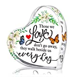 WHATSIGN Sympathy Gift,4' Memorial Gift for Loss of Mother or Father, Bereavement Gift,in Memory of A Loved One,Condolence Gifts for Loss of Loved One,Grieving Gifts