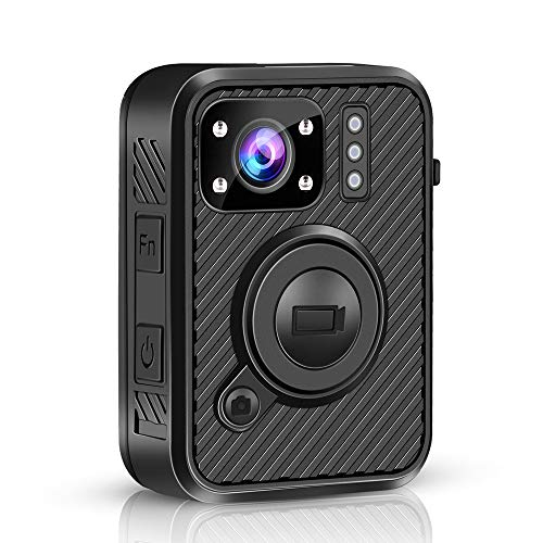 Buy Bargain QWERTOUY WiFi Police Camera F1 64GB Body Kamera 1440P Worn Cameras for Law Enforcement 1...