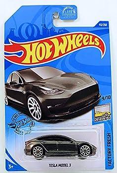 Hot Wheels 2020 Factory Fresh Tesla Model 3 112/250 Gray