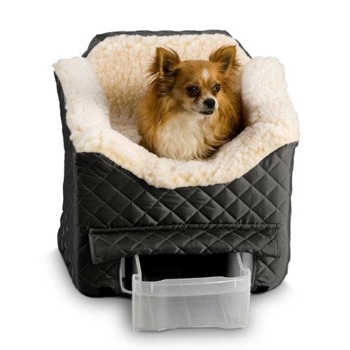 Snoozer Lookout II Pet Car Seat, Medium II, Black