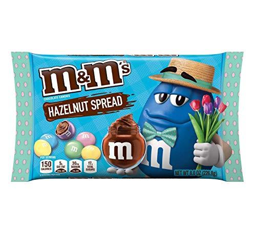 Hazelnut Spread M&M's - 8oz Easter Edition Bag - Spring American M&Ms
