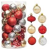 "CHICHIC 41ct 2.36"" Christmas Ornaments for Christmas Tree Decorations Christmas Tree..."