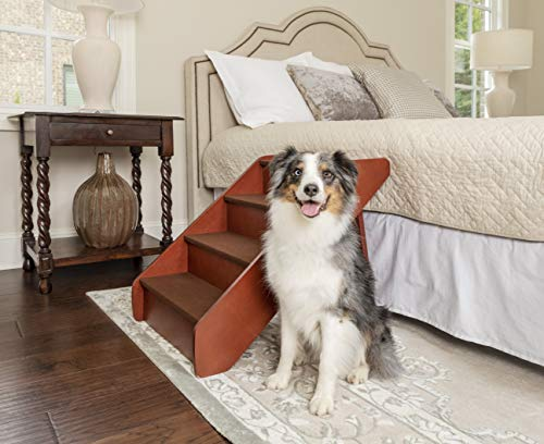 PetSafe Solvit PupSTEP Wood Pet Stairs for Dogs...