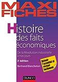 Maxi fiches - Histoire des faits économiques - 2e éd. - De la révolution industrielle à nos jours - De la révolution industrielle à nos jours