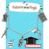 Pulsera de la PROFE Plata de Ley - Pulsera para profesora