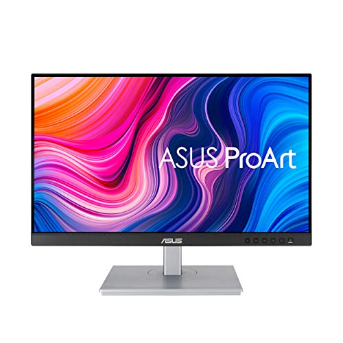 "ASUS ProArt Display PA247CV 23.8"" Monitor, 1080P Full HD, 100% sRGB/Rec. 709, IPS, ΔE  2, USB hub USB-C HDMI DisplayPort with Daisy-Chaining, Calman Verified, Eye Care, Anti-Glare, Ergonomic Stand"