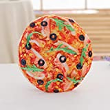 NACOLA Creative Simulation Pizza Hamburger Bread Cookies Pillow Plush StuffedToy Home Office Sleeping Cushions Gift for Kids Adults
