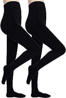 Diravo Womens Winter Warm Leggings Elastic Velvet Fleece Lined Thick Tight Leggings