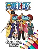One Piece Coloring Book: Quarantine Self Relief Book, +70 High-Quality Illustration