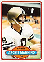 1980 Topps #93 Archie Manning New Orleans Saints NFL Football Card NM-MT