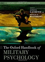 Best the oxford handbook of military psychology Reviews