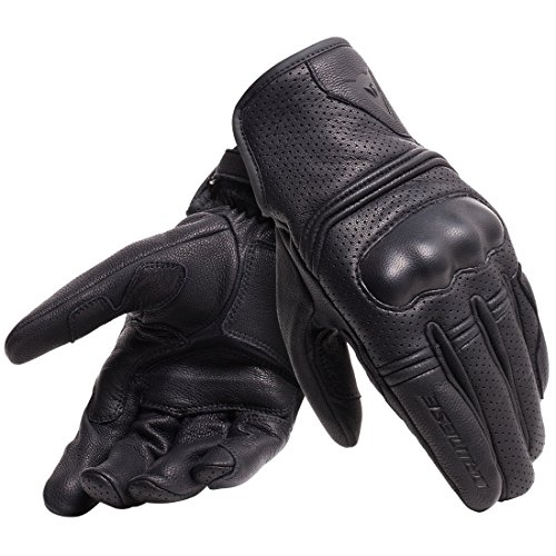 Dainese Guantes para Moto, Negro, Talla XL