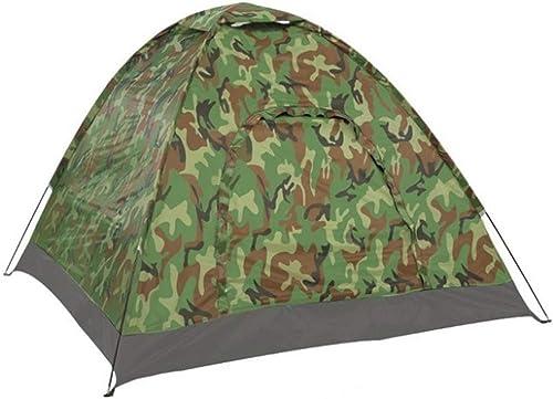 HOUER Tente de Camouflage à Double Couche, Tente de Camping en Plein air pour 2 Personnes Pliable