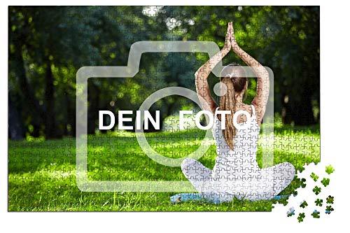 OKOUNOKO Puzzle Personalizado Puzzle 1000 Piezas, Rompecabezas de Fotos 75x50cm