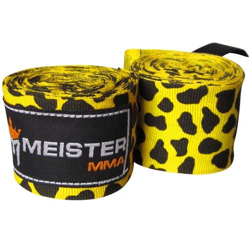 Meister - Vendas de mano semielásticas para adultos de 2 m para MMA y boxeo (par) – todos los colores, 180