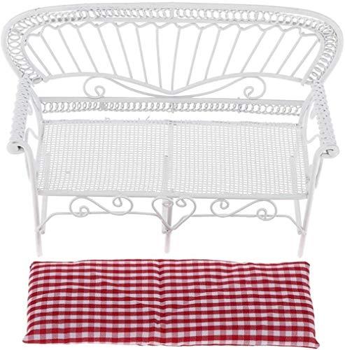 hsj Minimöbel Modell Wohnzimmer Szene Schmiedeeisen Doppelschlaf Lattice Exquisite Verarbeitung
