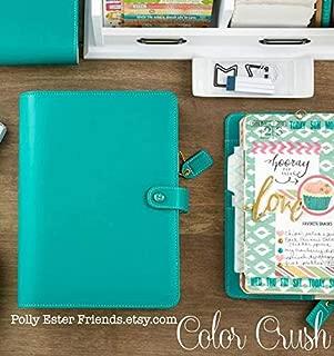 Personal Planner Binder, Jade Websters Pages Notebook Planner Binder Color Crush Planner, Ring Binder, Planner Notebook, Planner Organizer