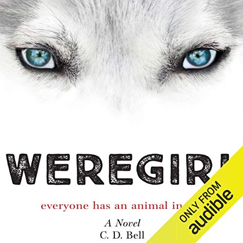 Weregirl audiobook cover art