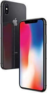 Apple iPhone X Space Grey 64GB SIM-Free Smartphone (Renewed)