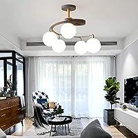 モダンなミニマリストスタイルのシャンデリア北欧の鉄のペンダントライトベッドルームキッチンダイニングリビングルーム照明グレー