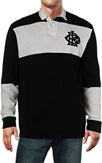 Men's Iconic Cotton Rugby Long-Sleeve Shirt