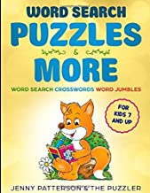WORD SEARCH PUZZLES & MORE: WORD PUZZLES FOR AGES 7 & UP - CROSSWORDS, WORD SEARCH PUZZLES, JUMBLES