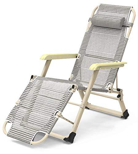Sunlounger,Garden Life Zero Gravity Folding Outdoor Recliner Chair/Sun Lounger - Steel Frame