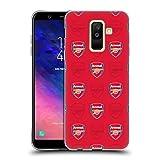Head Case Designs sous Licence Officielle Arsenal FC Rouge Crête Modèles Coque en Gel Doux...