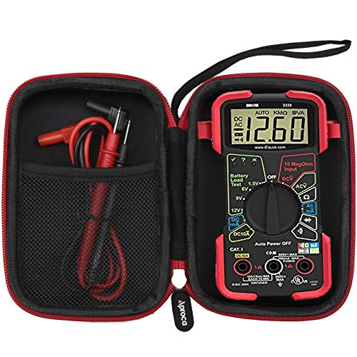 Aproca Hard Carry Travel Case for INNOVA 3320/3340 /AstroAI AM33D Digital Multimeter