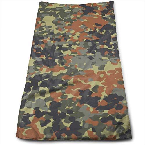 YudoHong Camuflaje Cinco Toallas de Mano abstractas Suaves, súper absorbentes y de Secado rápido