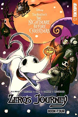 Disney Manga: Tim Burton's The Nightmare Before Christmas -- Zero's Journey Graphic Novel Book 4