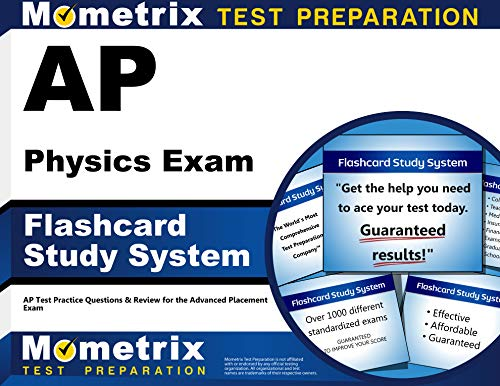 Ap Physics Exam Flashcard Study System Ap Test Practice Questions Review For The Advanced Placement Exam Cards
