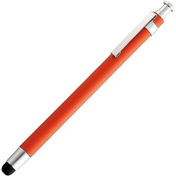 キングジム タッチペン&ボールペン  ノック式 9247 オレンジ